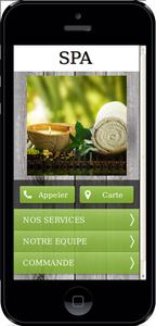 Site Mobile Pour Spa